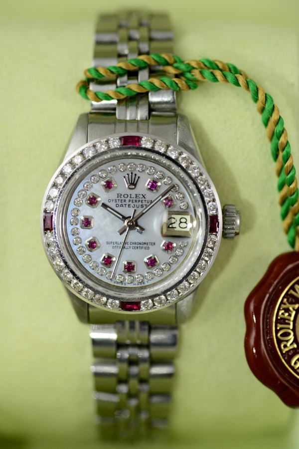 Rolex Ladies Weiss