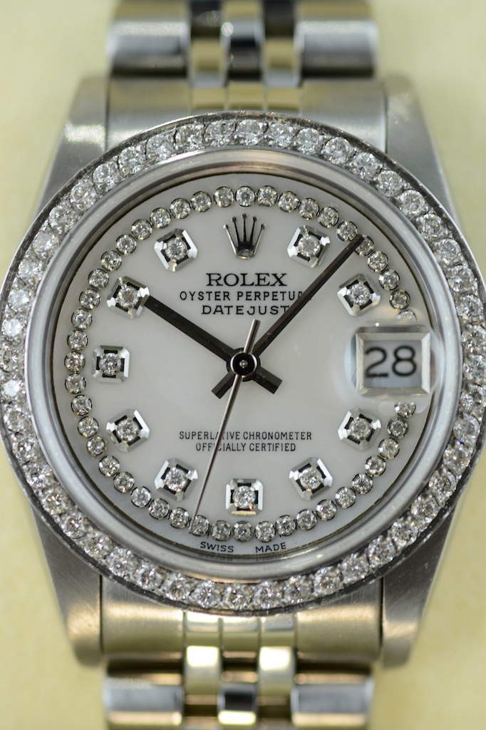 Rolex Midsize Datejust 31 Mm Mit 106 Diamanten Couture Watch Rolex