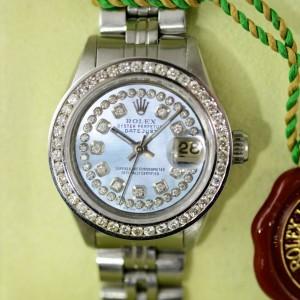 Rolex Ladies Datejust Diamant Lünette