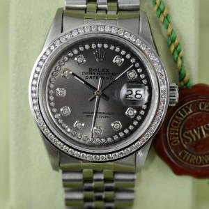 Rolex Datejust Diamantlünette