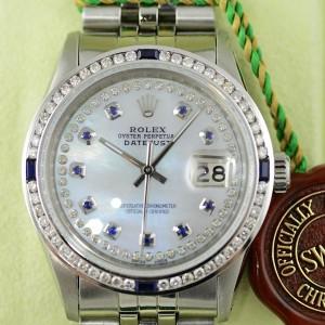 Rolex Datejust Perlmutt