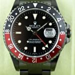 Die Rolex GMT Master II mit DLC Beschichtung