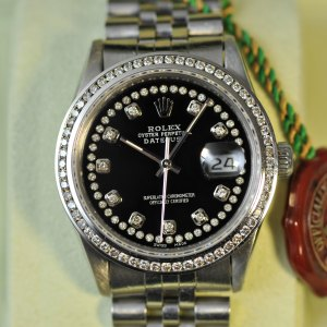 Rolex Datejust mit Diamanten