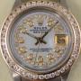 Rolex Datejust Lady biclolor aus Gelbgold und Edelstahl