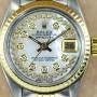 Rolex Lady Datejust bicolor in Edelstahl und Gelbgold