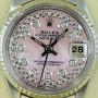 Rolex Lady Datejust Rose Perlmutt Zifferblatt mit Diamanten